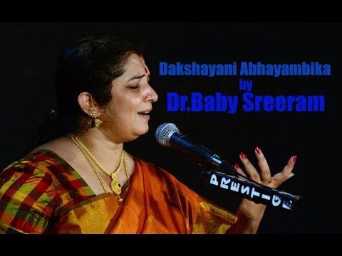 Dakshayani Abhayambika by Dr. Baby Sreeram