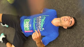 Tentei correr 42 195km sem treinamento