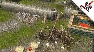 Stronghold 2 Multiplayer - Mads vs Adrian vs SergiuHellDragoonHQ | Deathmatch [1080p/HD]