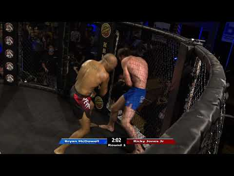 HRMMA 116 Fight 13 Bryan McDowell vs Ricky Jones Jr 170 PRO