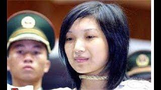 她是中國最美女犯人,20歲被槍斃,死前「提一要求」讓執法人員瞬間臉紅!