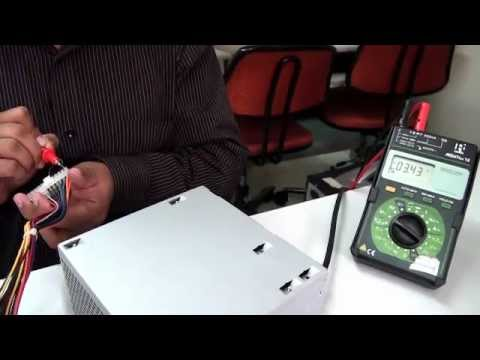 Checking PSU ( SMPS Power Supply) Output Voltages - YouTube