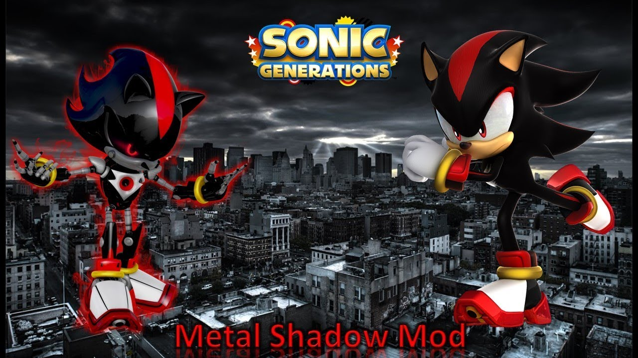 026ba8fe8307 Sonic Generations Mod Part 193  Metal Shadow Mod (1080p60fps) - YouTube