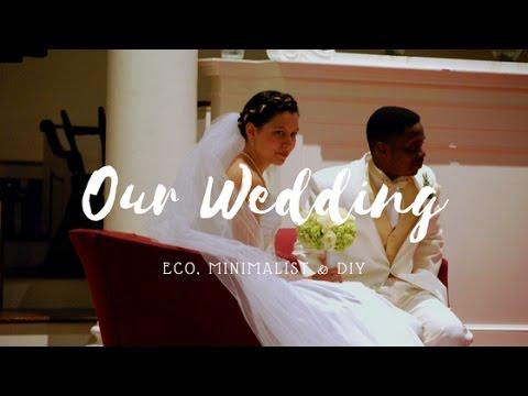 OUR WEDDING STORY | A Minimalist, Eco & DIY Fall Wedding!