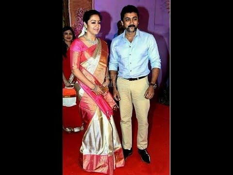 actress jyothika sarees collection