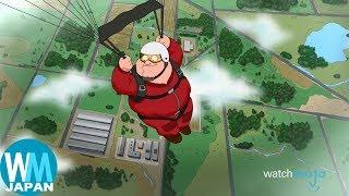 Family Guy 字幕 ランキングTOP10 不快なジョーク編