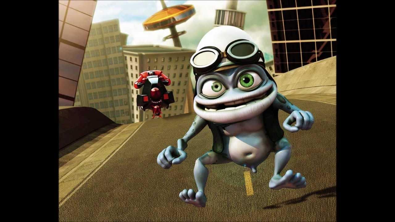 Скачать мелодию crazy frog axel f