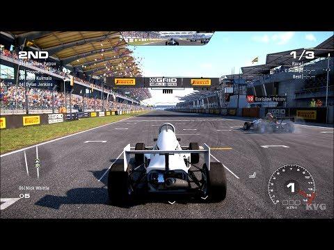 GRID (2019) - JEDI F1000-SPEC Gameplay (PC HD) [1080p60FPS] |