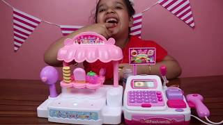 Cool Ice Cream Bo Cash Register Set toy !