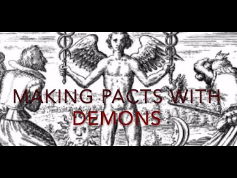 How to make a Pact with a Demon with Black Witch S