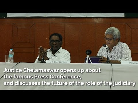 Justice Chelamaswar Opens Up About Press Conference, and the Future of the Judiciary