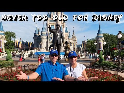 You Are Never Too Old For Walt Disney World! RV Camping at Fort Wilderness
