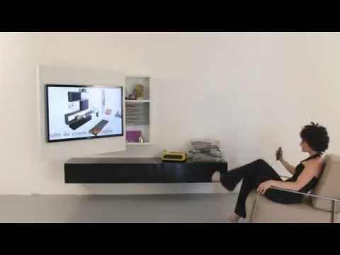 Porta Tv Rack.Porta Tv Rack By Fimar