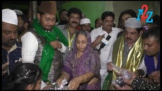 B.Z.Zameer Ahmed with his Mother Visited Amma jaan Baava jaan dargah,A2Z TV