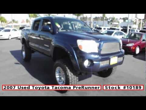 2007 Used Toyota Tacoma PreRunner Lifted For Sale in San Diego at Classic Chariots - Stock 10189