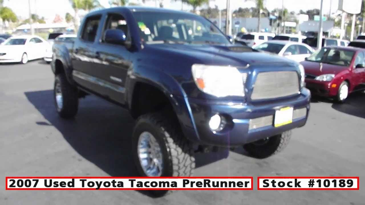 2007 used toyota tacoma prerunner lifted for sale in san diego at classic chariots stock 10189. Black Bedroom Furniture Sets. Home Design Ideas