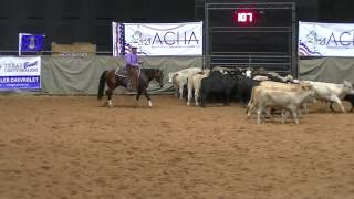 ACHA World - 9/19/15 - HOWARD E HUGHES - rider Faron Hightower - Open Finals - score 149