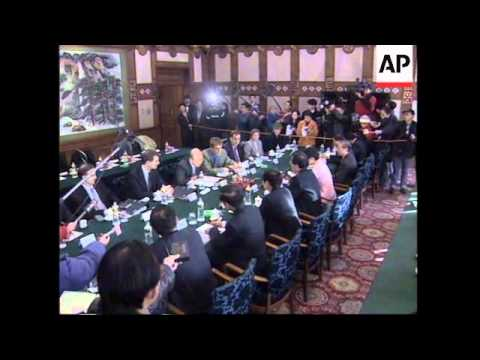 CHINA: BEIJING: ANGLO-CHINESE TALKS OVER SITUATION IN HONG KONG