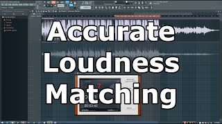 In this tutorial I show you a method for reliably matching the loud...