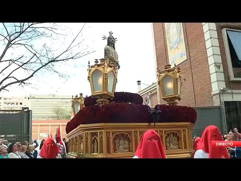 Salida Del Divino Cautivo Semana Santa 2017 En Telemadrid