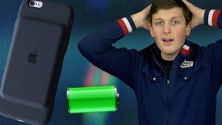 Обзор Apple iPhone 6s Smart Battery Case от Alex Gech