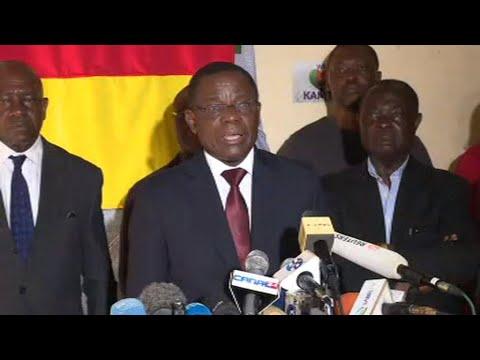 Présidentielle au Cameroun, le candidat Maurice Kamto revendique la victoire