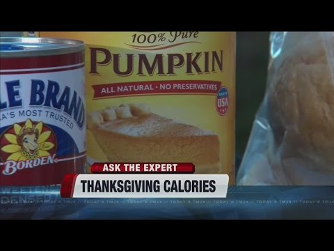 How many calories do we eat on Thanksgiving?
