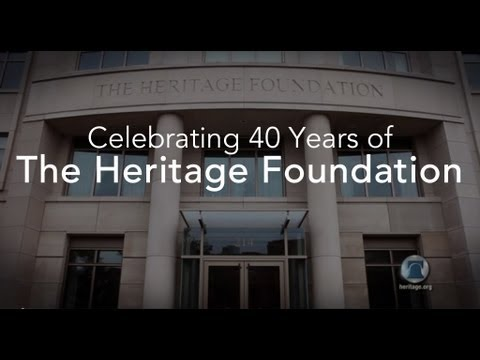 Celebrating 40 Years of The Heritage Foundation