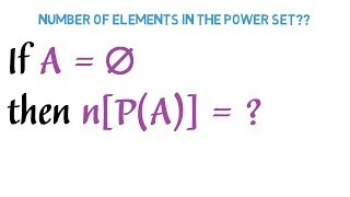 Download Mp3 If A = Empty Set Then N  P A    = ?