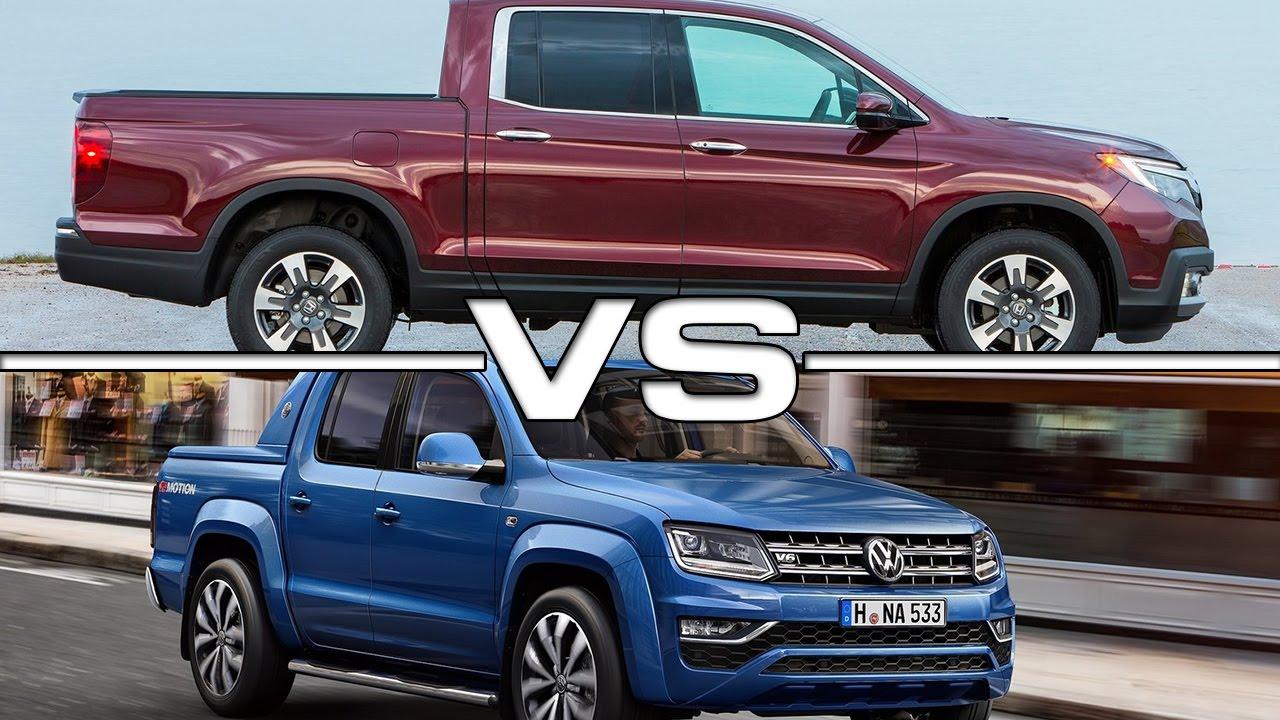 Honda Ridgeline Vs Volkswagen Amarok YouTube