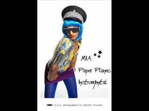 MIA  Paper Planes Instrumental