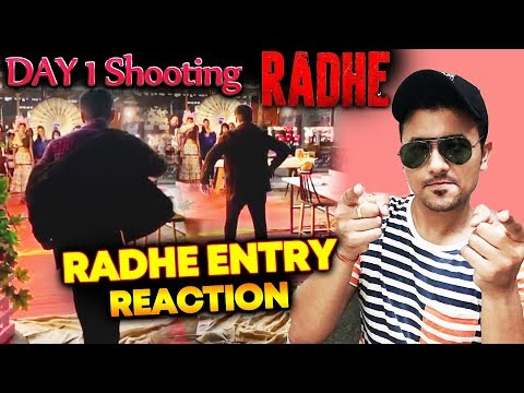 RADHE की Slow Motion Entry | DAY 1 Shooting | Salman Khan Mp3