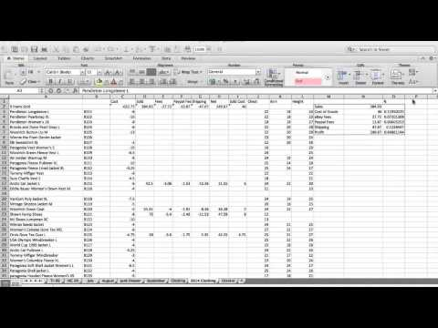 track your sales ebay inventory spreadsheet youtube