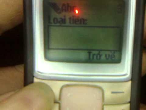 Video cài đặt chữ chạy trên 1110i AnhThinhMobile