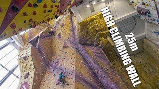 25m High Kendal Climbing Wall - CD Teasers