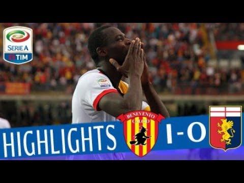 Benevento - Genoa 1-0 - Highlights - Giornata 37 - Serie A TIM 2017/18