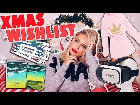 MY CHRISTMAS WISHLIST 2017!! ( What i would like for christmas )😭😍