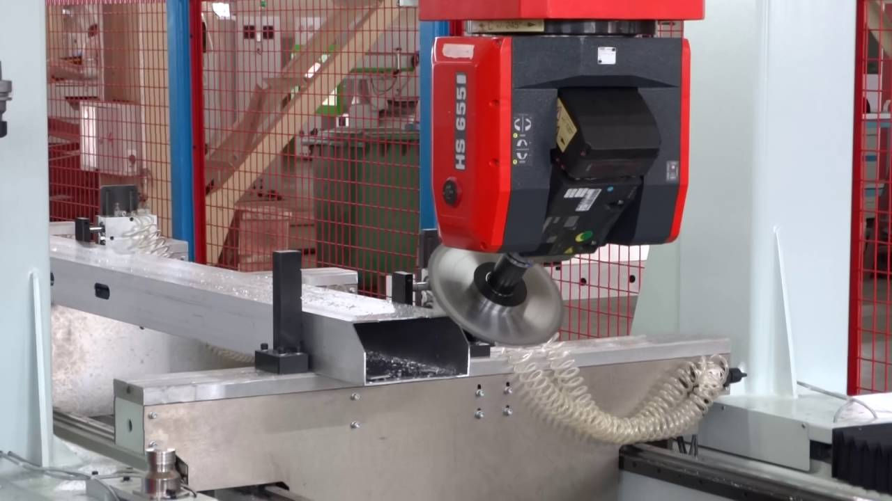 5 Axis Cnc Machining Center For Aluminum Profile With