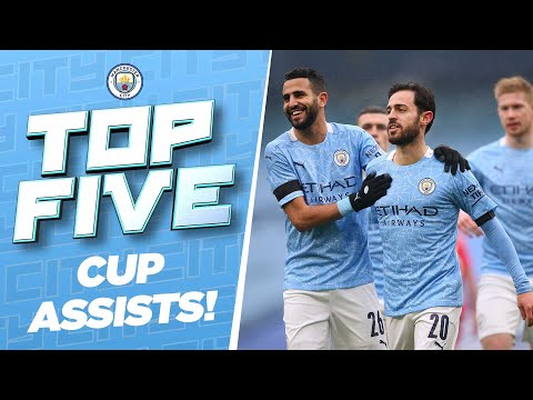 TOP 5 CUP ASSISTS! | Rodri, Foden, KDB & more!