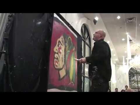 Artbeat Live! Chicago Blackhawks