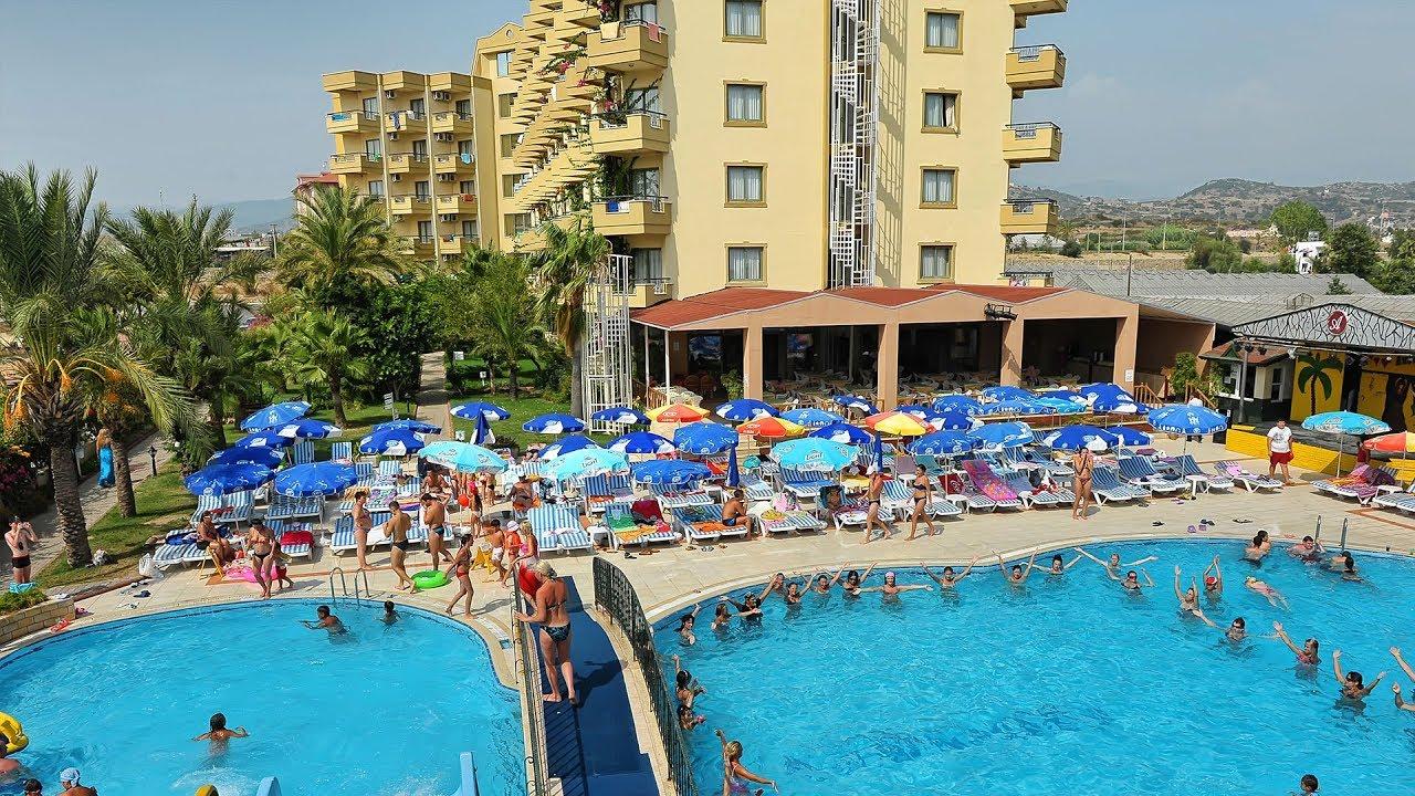 Отель Justiniano club Alanya 4 обзор от ht.kz - YouTube