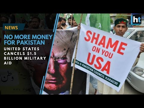 United States withdraws funding after expressing it isn't happy with Pakistan's terrorism management
