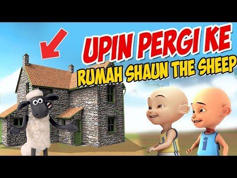 upin-ipin-pergi-ke-rumah-shaun-the-sheep-,-ipin-senang-!-gta-lucu