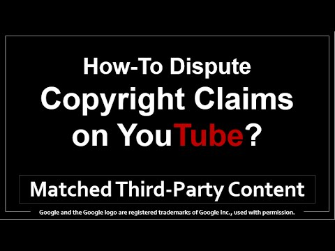 How to Dispute Copyright Claims on YouTube