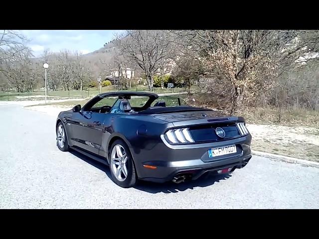 AUTO KLUB Ford Mustang 2018. EU version -  5.0 V8 crazy exhaust sound!
