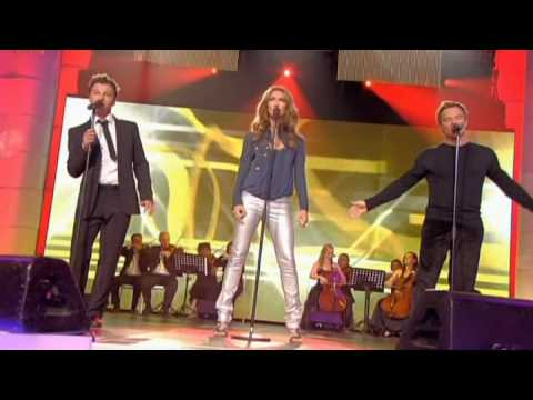 The Show Must Go On Celine Dion Christophe Maé, David Hallyday