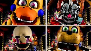 Ultimate Custom Night Jumpscares 3 FNAF Jumpscare Animations