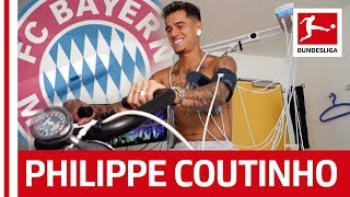 Philippe Coutinho's First Day at FC Bayern München