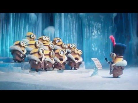 Die Minions singen Merry Christmas