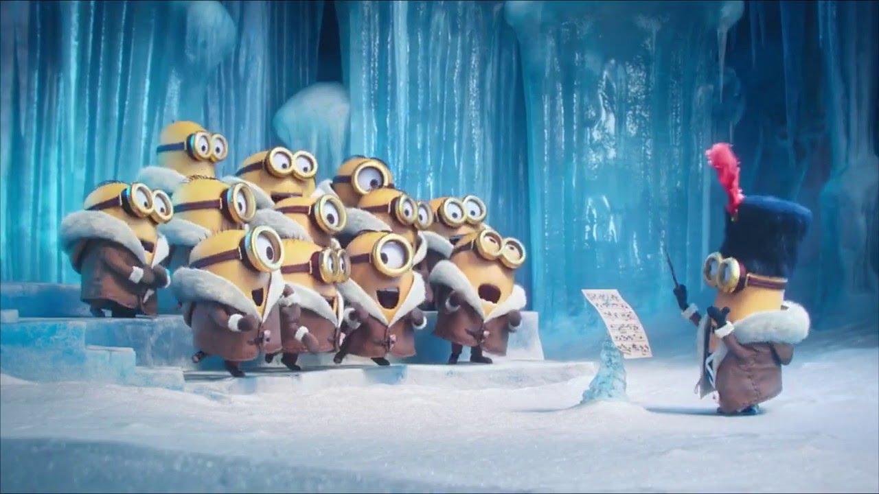 Frohe Weihnachten Minions.Die Minions Singen Merry Christmas Lustiges Musik Video